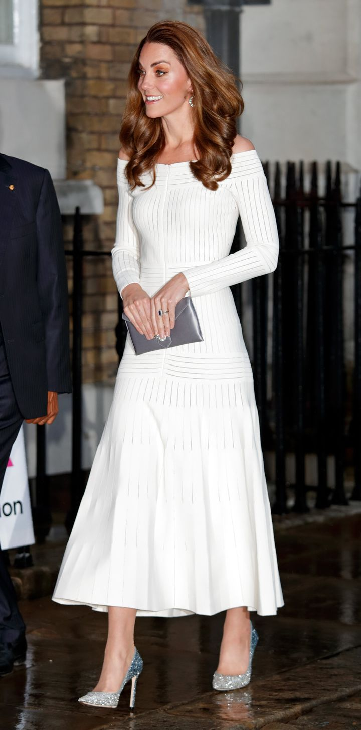 The Duchess of Cambridge attends the first annual gala dinner in recognition of Addiction Awareness Week at Spring Restaurant