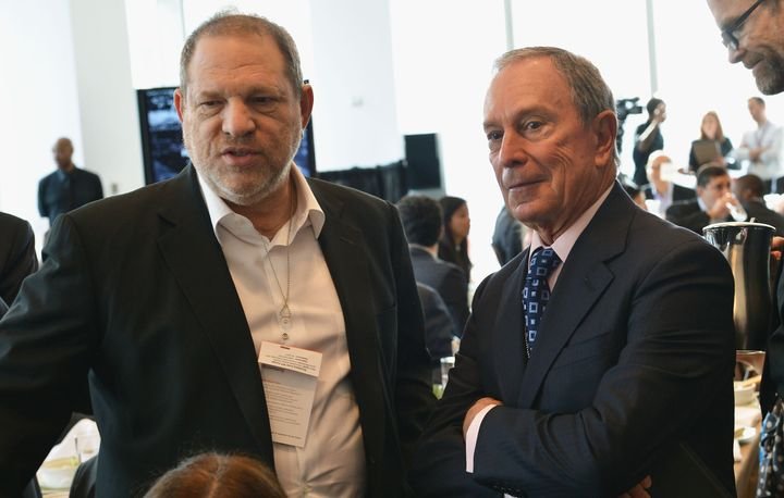 Harvey Weinstein had deep ties to Democratic and New York politicians, including Mike Bloomberg when he was mayor of New York