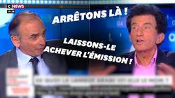 Sur CNews, Zemmour et Lang s'écharpent sur la langue