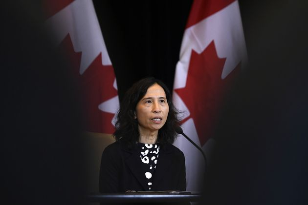 Chief Public Health Officer of Canada Dr. Theresa Tam speaks at a press conference in Ottawa, on Jan....