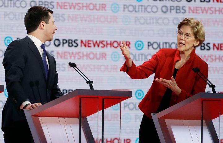 On Dec. 19, 2019, Sen. Elizabeth Warren lit into Pete Buttigieg on the debate stage in Los Angeles for attending a fundraiser