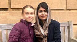Greta Thunberg Finally Met Role Model Malala Yousafzai, And They Took The Sweetest