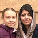Greta Thunberg Finally Met Role Model Malala Yousafzai, And They Took The Sweetest