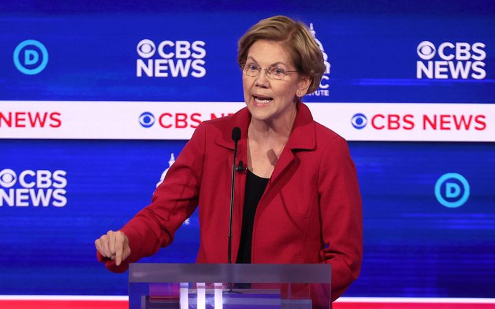 Sen. Elizabeth Warren (D-Mass.) criticized Democratic presidential rival Mike Bloomberg on Tuesday over nondisclosure agreeme