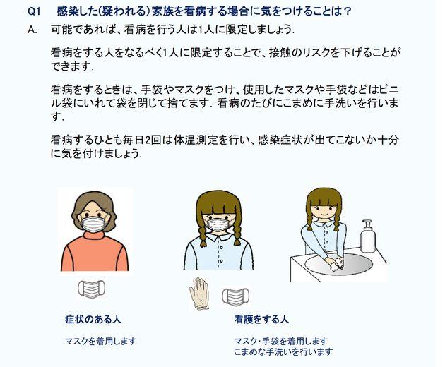 家族が新型コロナウイルスに感染したら、どうすればいい? 東北医科薬科大学病院がネットでハンドブック公開