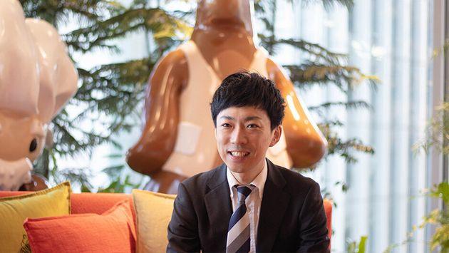 作田 遼(35)│コマーシャル営業 ストラテジック営業本部 本部長