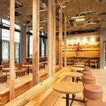 スタバ、新店舗を地域近郊の木材で木質化。林業が抱える課題に貢献