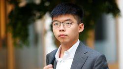 '우산 혁명 주역' 조슈아 웡이 한국 신종 코로나에 대해 남긴