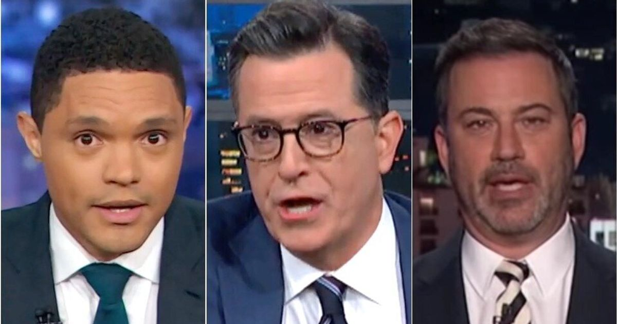 Late Night Hosts Dissect 'Wild' Democratic Debate With Some Savage One-Liners