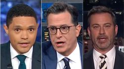 Late Night Hosts Dissect 'Wild' Democratic Debate With Some Savage