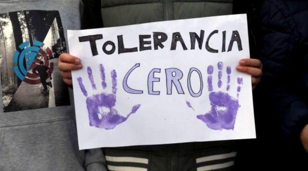 Imagen de archivo de una protesta contra la violencia