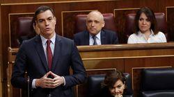 Sánchez acude a la mesa con Cataluña