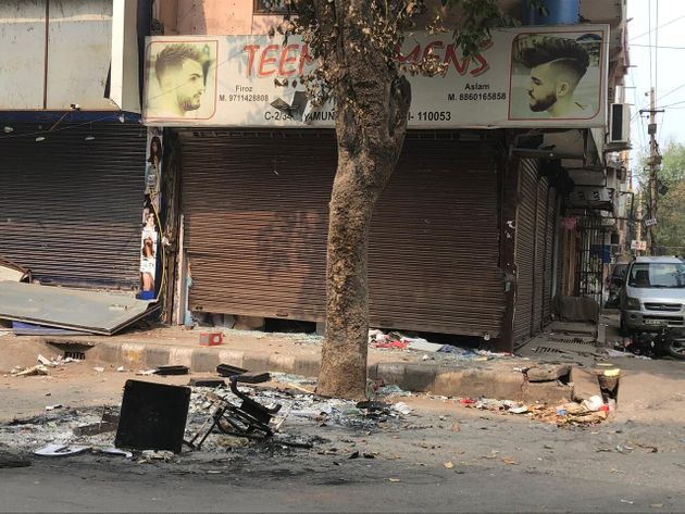 Stores own by Muslims vandalised in north east
