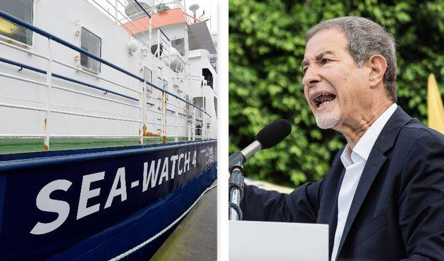 """Sea Watch con 194 migranti verso Messina. Musumeci: """"Qu"""