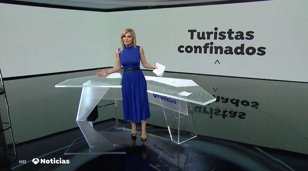 Sandra Golpe, en 'Antena 3