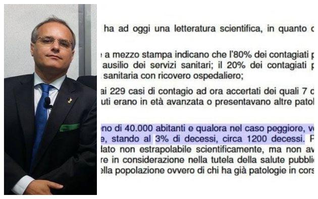 Alessandro Fagioli; il testo