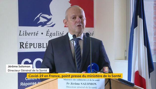 Le directeur général de la Santé, Jérôme Salomon, a annoncé le décès d'une deuxième patient touché par...