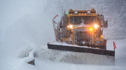 Des chutes de neige particulièrement fortes au nord de la vallée du