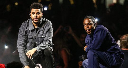 The Weeknd ( à gauche) et Kendrick