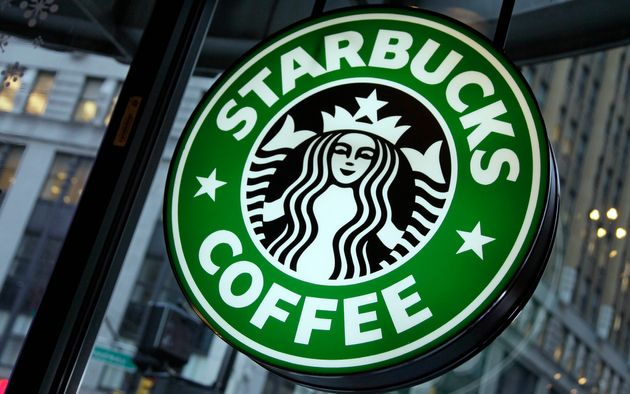 In this 2010 file photo, a Starbucks sign is seen in New York City. The company says customers in Canada...