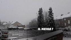 La neige de retour dans plusieurs régions de