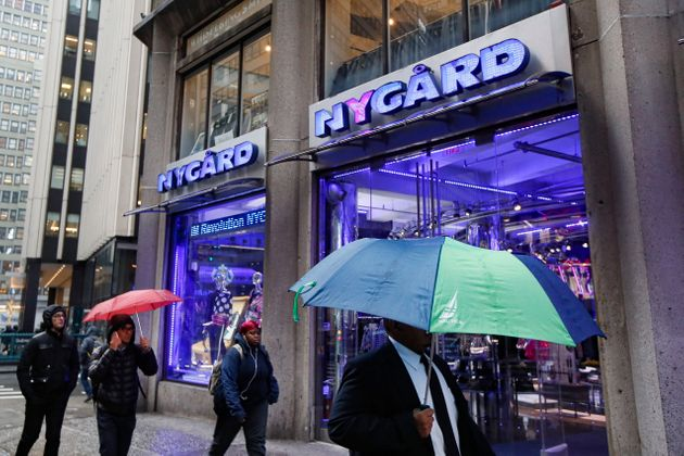 Pedestrian walk past a Nygard store in New York City on Tuesday. The company says there are more than...