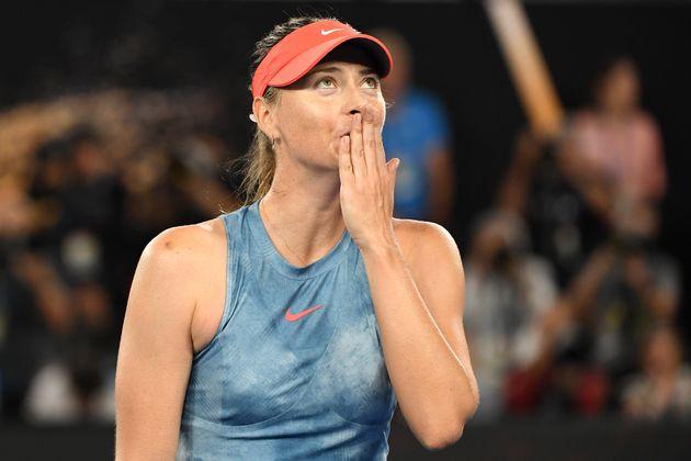 Maria Sharapova, ici lors de l'Open d'Australie à Melbourne en