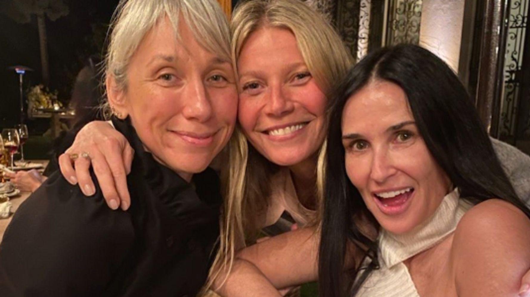 Lorsque Gwyneth Paltrow organise une soirée de stars sans maquillage