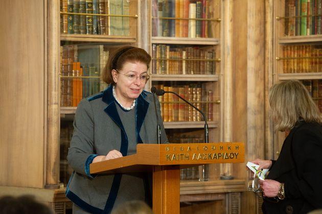 Η Λίνα Μενδώνη ανοίγει το Ετος Σαμαράκη στην ιστορική βιβλιοθήκη του Ιδρύματος Λασκαρίδη