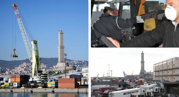 Cargo bloccati, tir in quarantena, porti ingolfati: la filie