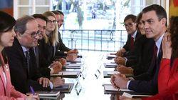 Torra y Sánchez pactan que la Mesa se reúna cada mes y que los acuerdos se formulen dentro de la