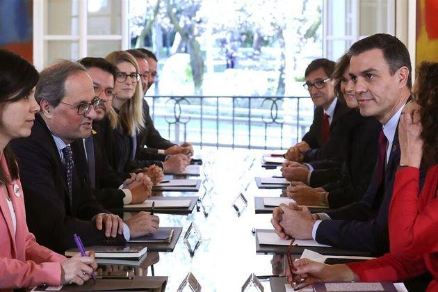 La delegación del 'Govern' y del Gobierno central en La