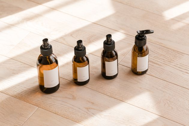 Look for products in dark glass bottles and store them out of the