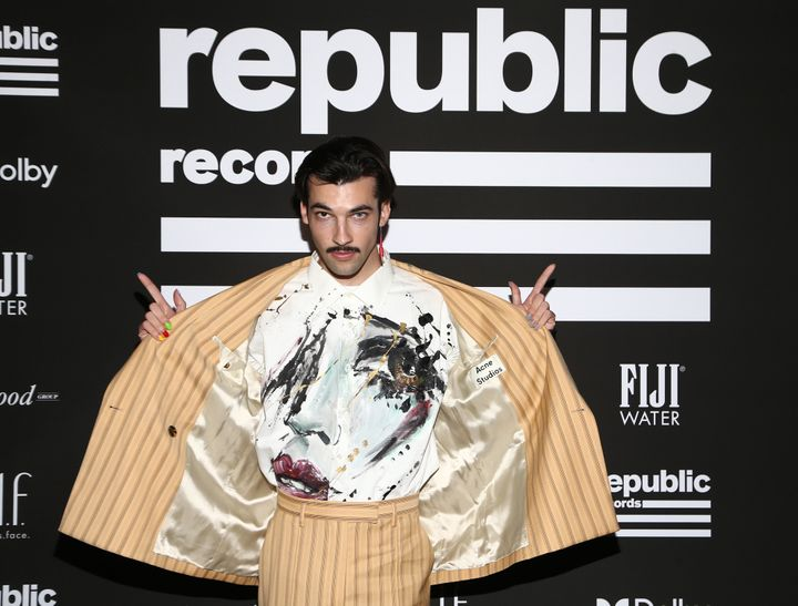 LoveLeo attends Republic Records' Grammys after-party in West Hollywood, California.