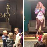 Esta drag queen encantou cerca de 30 crianças ao contar histórias em evento nos