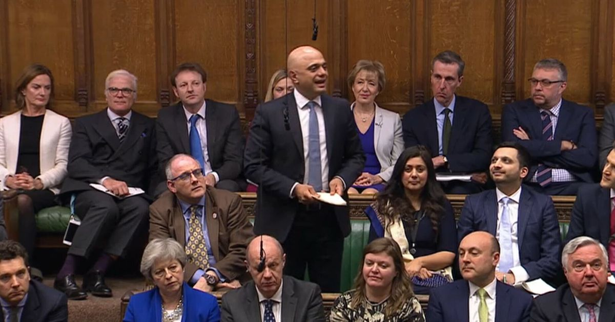 Why Sajid Javid's 'S**t Sandwich' Will Get The Tories Worried