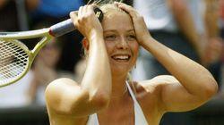 シャラポワ、テニスラケットを握った幼いころの写真をインスタに投稿。「高みを目指し、成長し続ける」