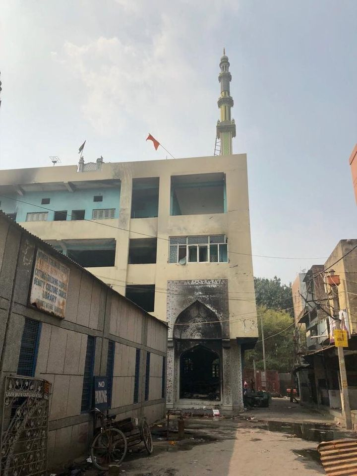 The Jamia Arabia Madinatul Uloom mosque in Golakpuri was attacked on 24 February in the Delhi riots.