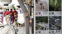 「今こそ!おこしやす」新型コロナウイルスで観光客激減の京都・嵐山がポスターで呼びかけ