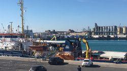 Sea Watch arriva a Messina: