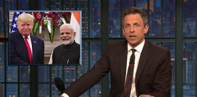 Seth Meyers on Modi and