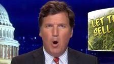 'Zünden Sie Sich Eine Schüssel, Taub Aus!': Tucker Carlson-Joins Rechten Flügel Reefer Madness