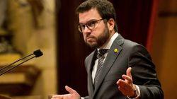 Pere Aragonès desvincula el apoyo de ERC al techo de gasto de la mesa de