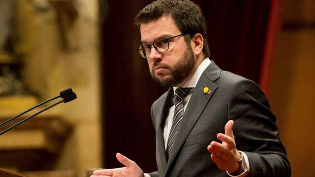 El vicepresidente de la Generalitat, Pere
