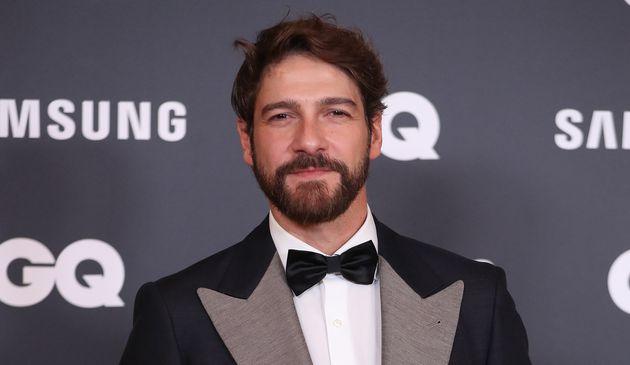 El actor Félix Gómez, fotografiado en un evento el 21 de noviembre de