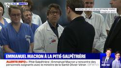 Les mots forts de ce médecin qui interpelle Macron pendant sa visite pour le
