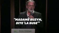 Ces blagues d'Alévêque au meeting d'Hidalgo ne font rire ni LREM ni