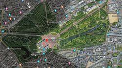 Un usuario descubre una sorpresa escondida en Google Maps sobre el Palacio de