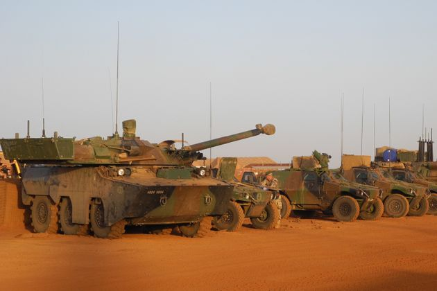 Image d'illustration - Des soldats français de la force Barkhane au Mali,