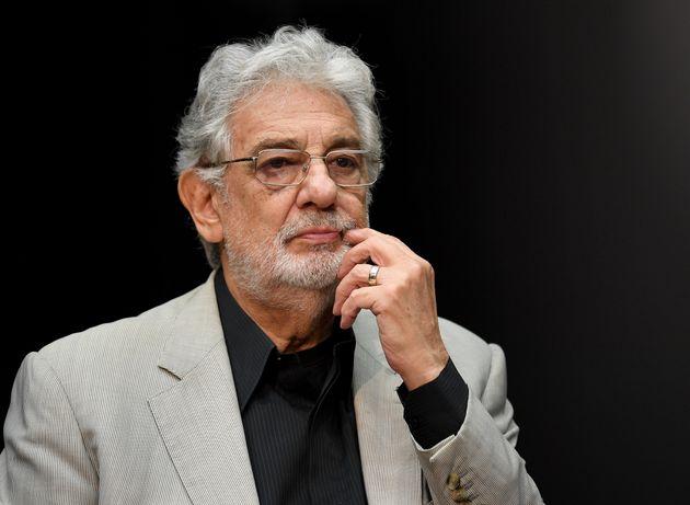 Plácido Domingo pediu desculpas às mulheres na última terça